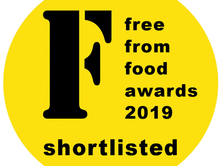 We've been shortlisted for the FreeFrom Food Awards!