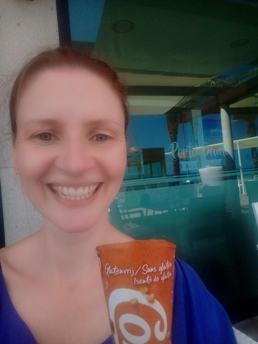 A gluten-free icecream in Madeira
