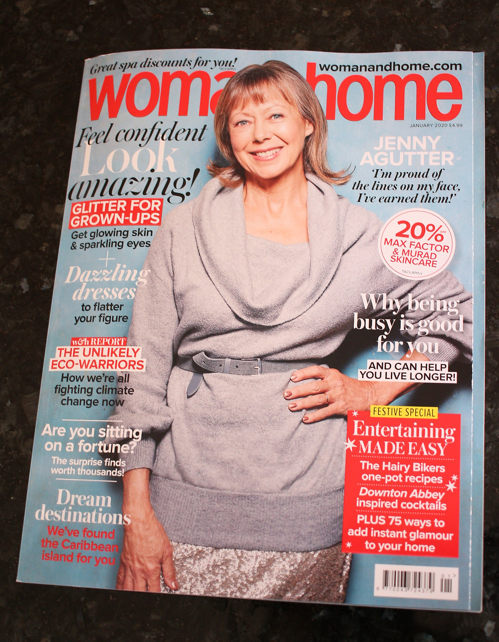 Woman & Home January 2020 magazine
