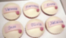 We can ice your guests' names on individual cake if you wish so they absolutely know it's suitabl for their diet!