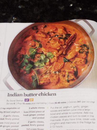 Indian Butter Chicken by Gluten-free Heaven magazine