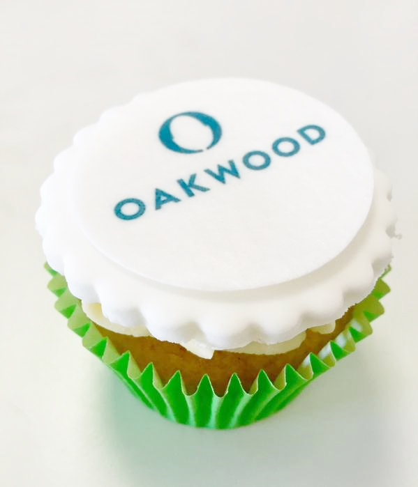Oakwood cupcake