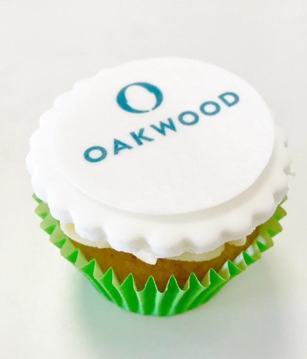 Oakwood cupcake