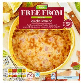 Asda's gluten-free quiches are excellent