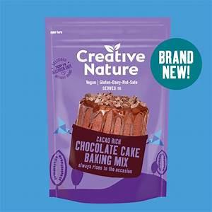 Creative Nature chocolate cake baking mix