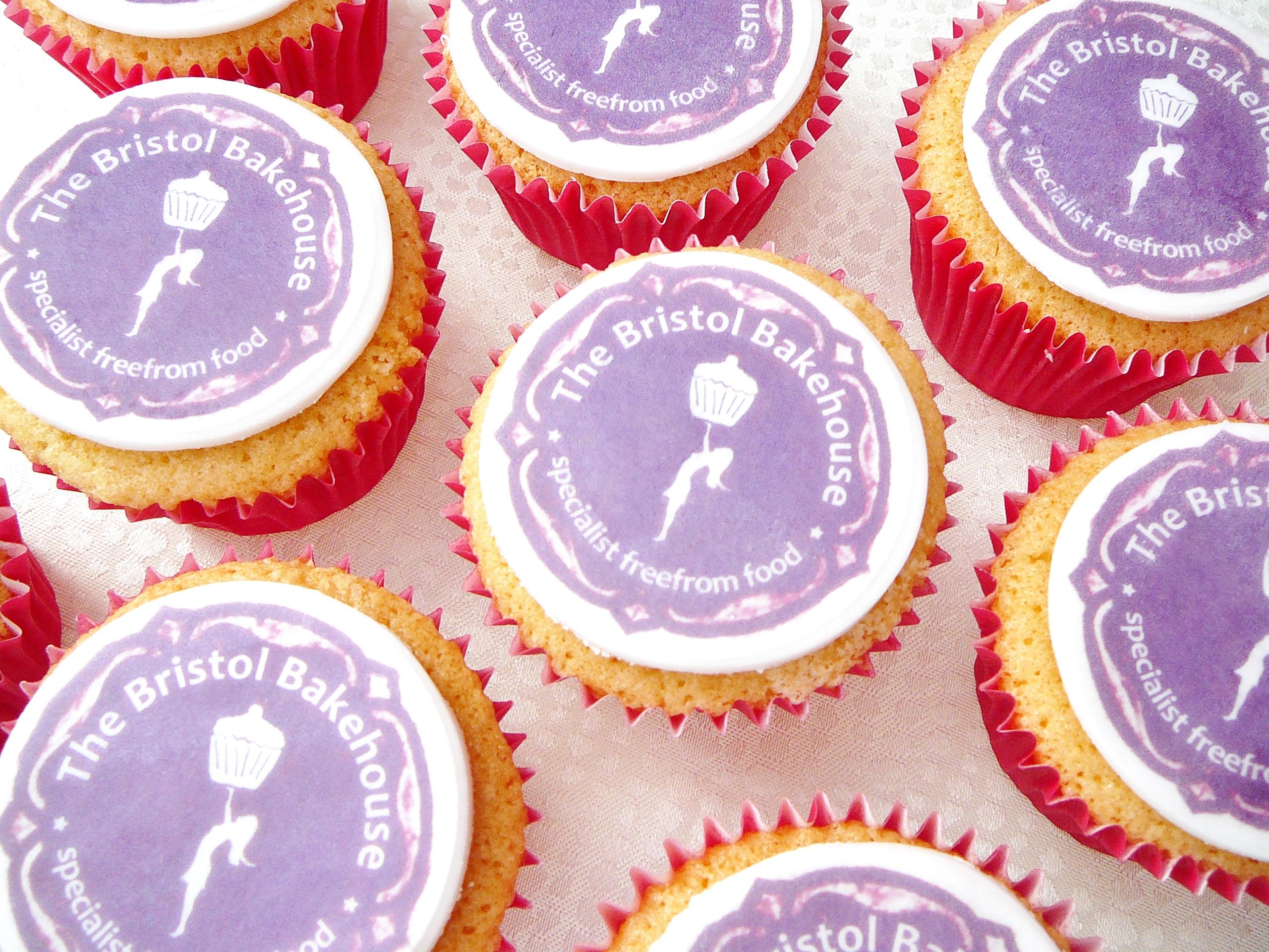 TBB logo cupcakes