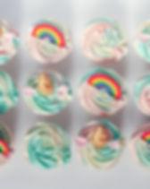 Unicorn & rainbow cupcakes x 12.jpg