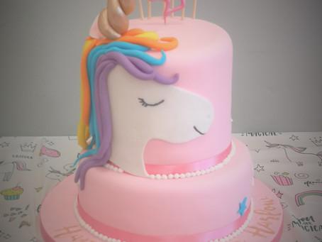 How to make a 2 tier unicorn cake