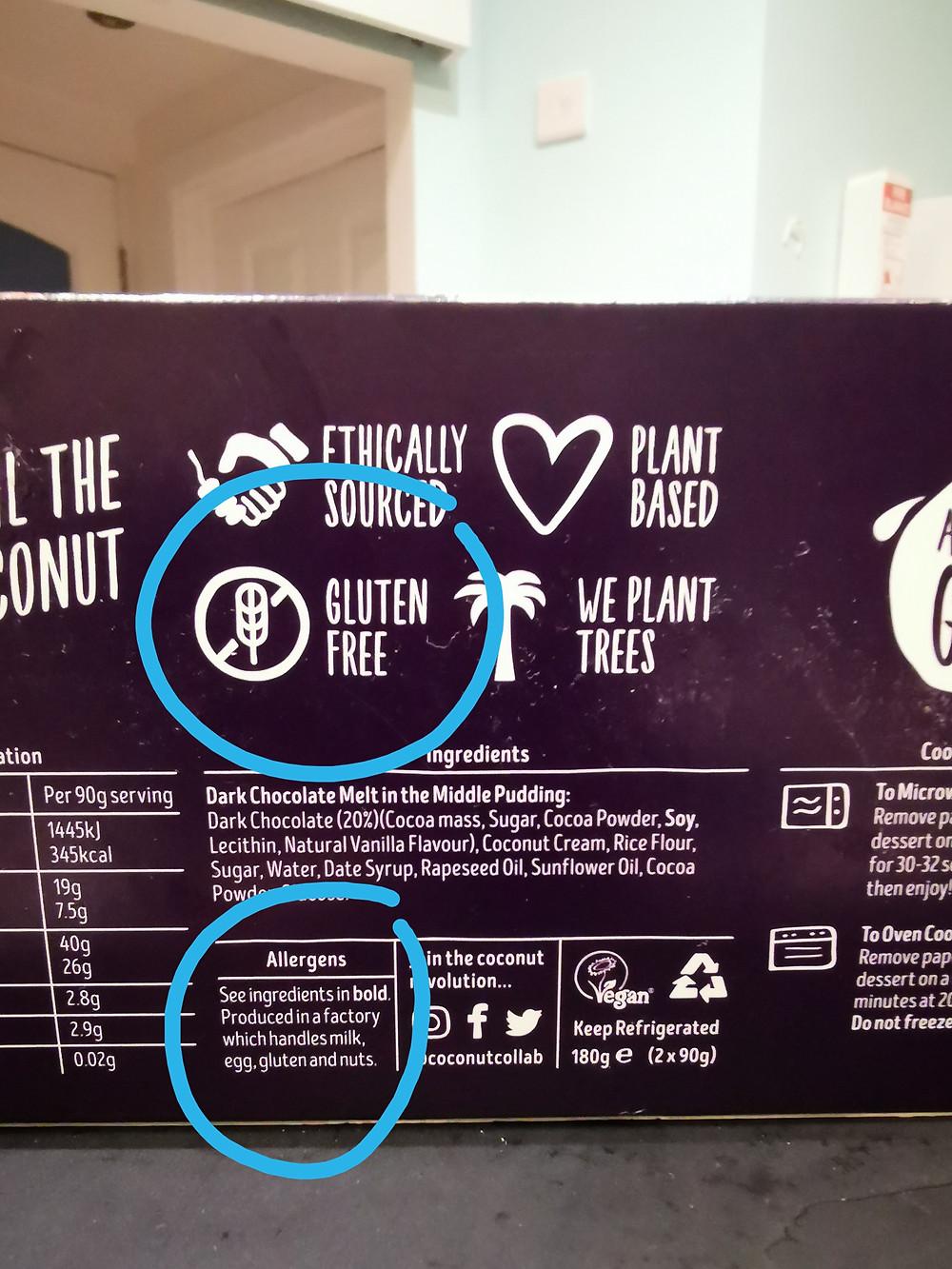Gluten-free or is it?