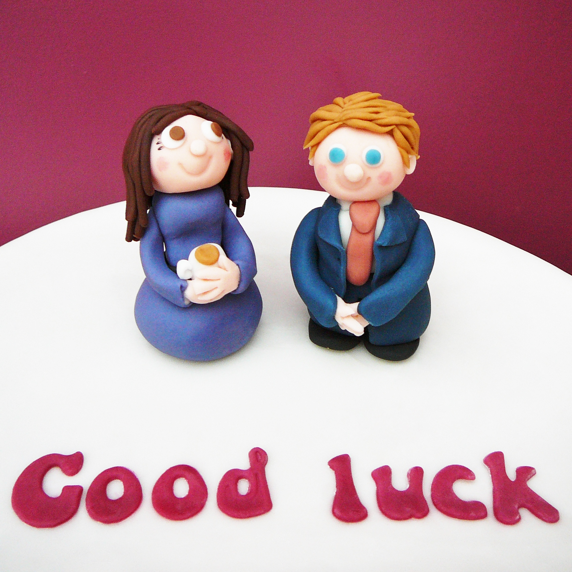 Good luck in your next job cake