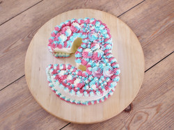 Number 3 cake