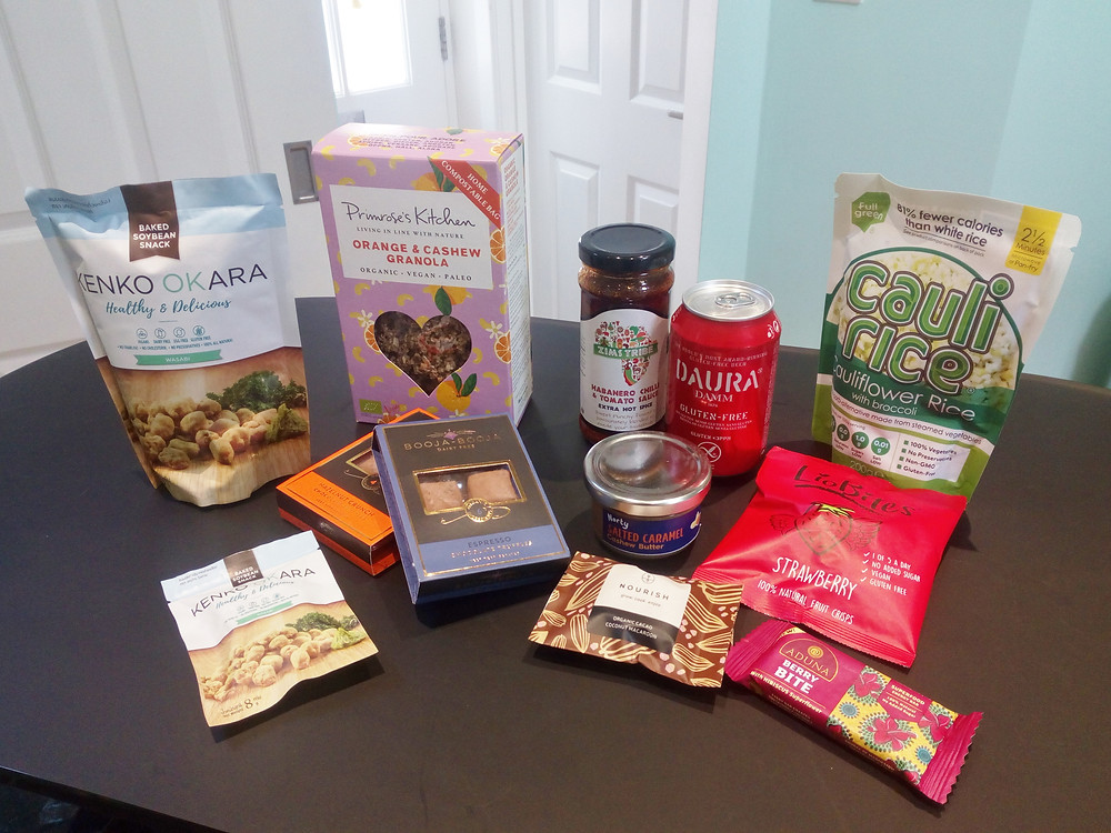 Gluten-free food from The FreeFrom Festival