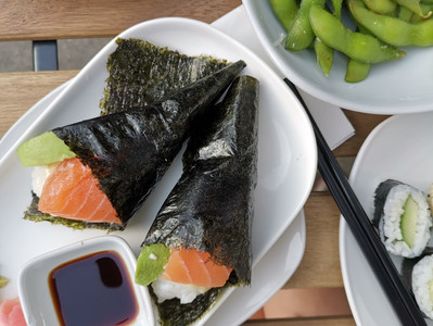 Why sushi is a great choice for coeliacs