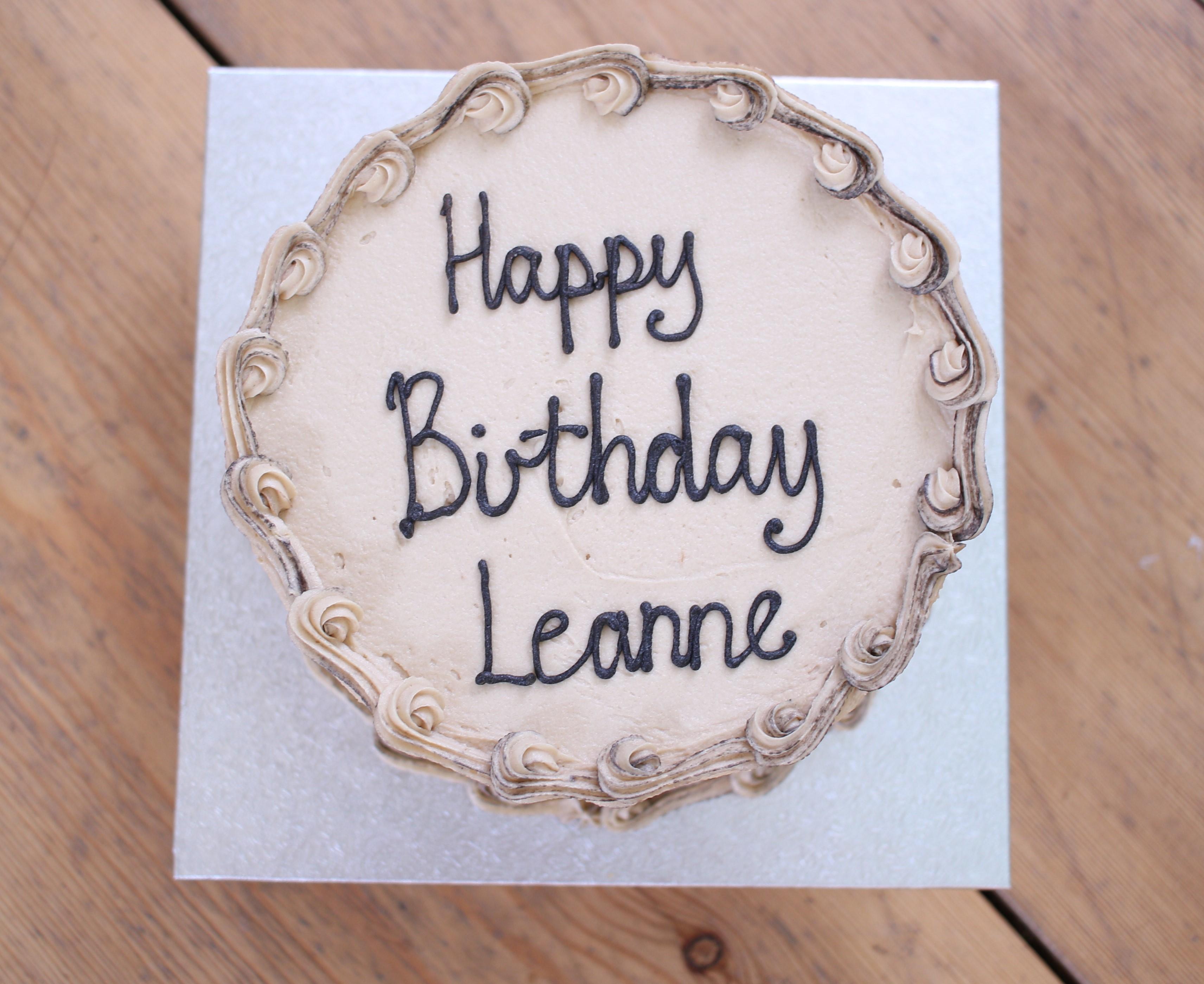 Happy birthday Leanne cake