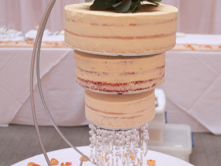 The latest wedding cake (just before lockdown!)