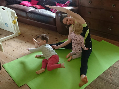 How to combat IBS with exercise when you have toddlers