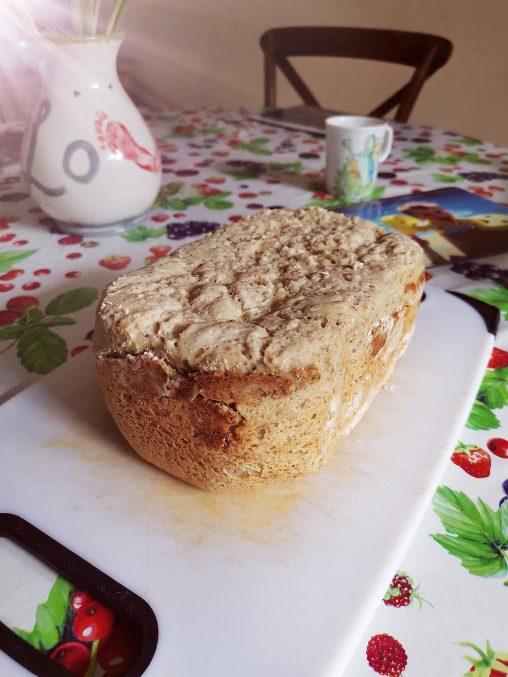 Seeded gluten-free bread