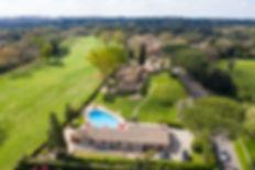 THE VILLA alongside Golf Court