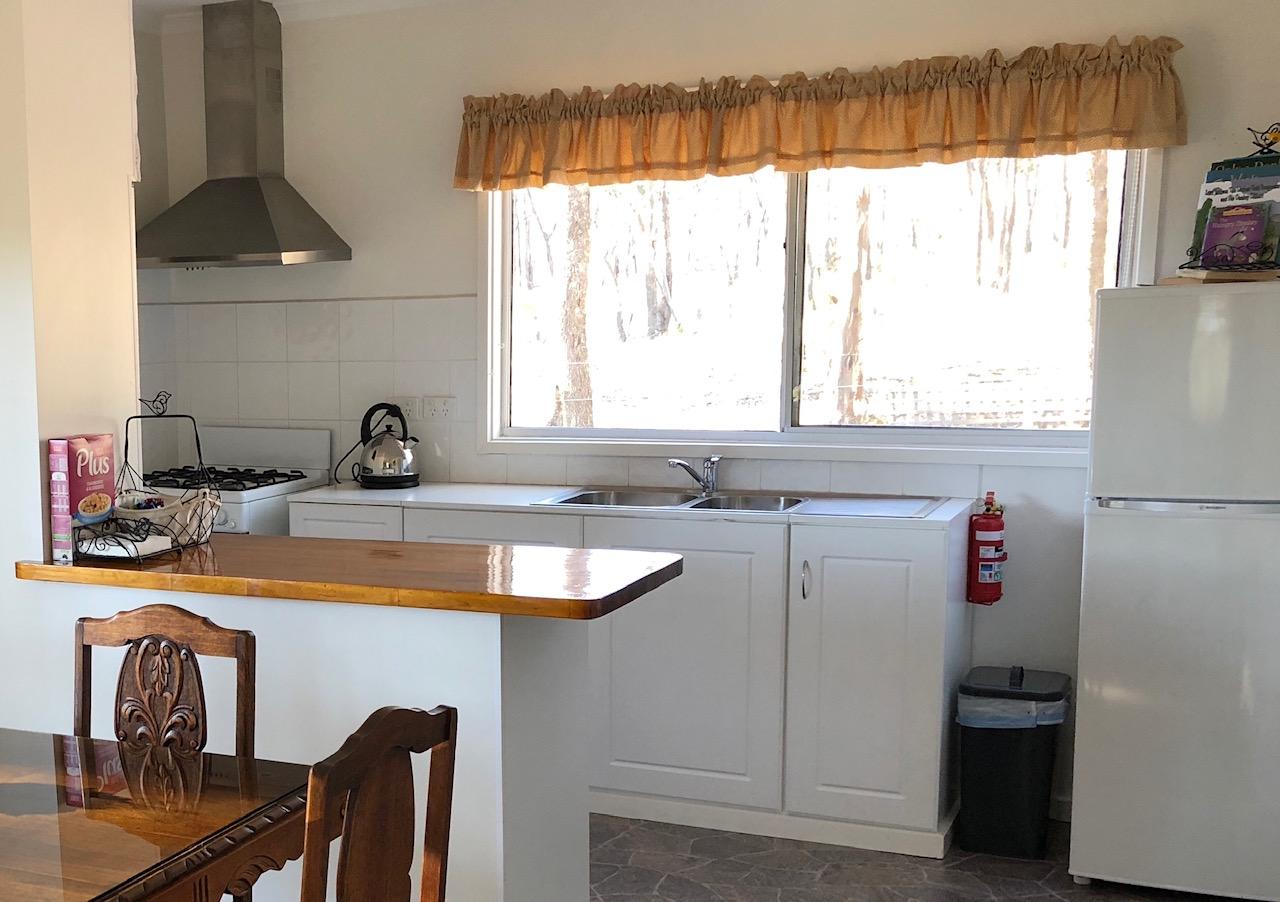 Donkey Tales Farm Cottages kitchen