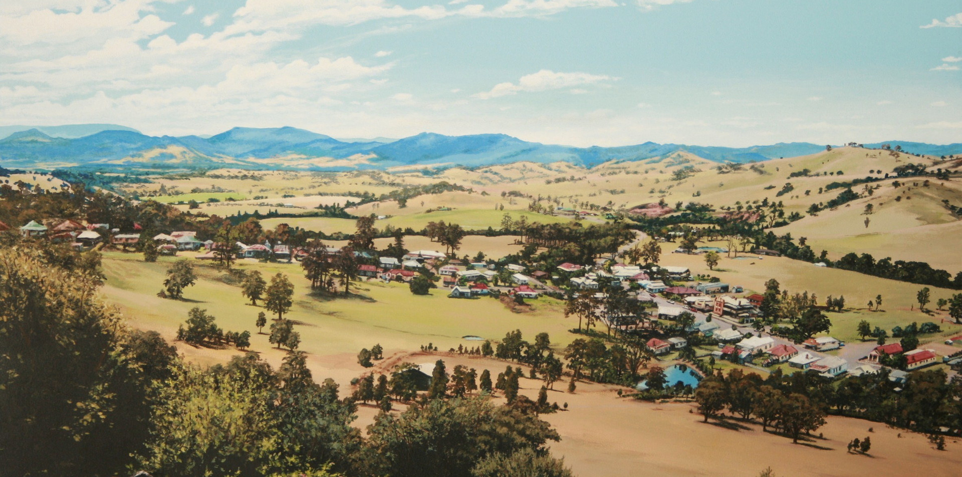 View of East Gresford NSW