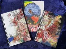 Notebooks $25.ea 22x14 x1cm (8.5x5.5 x.5