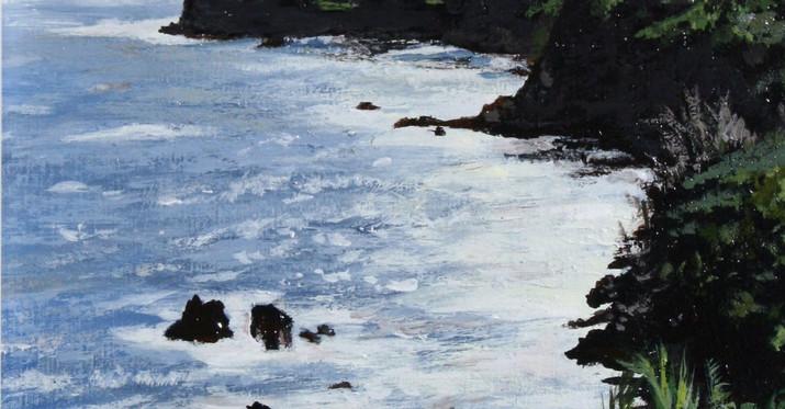 Hawaiian Coastline.