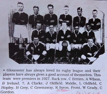 Football Team - Clarke