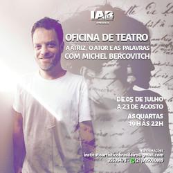 OFICINA DE TEATRO COM MICHEL BERCOVITCH