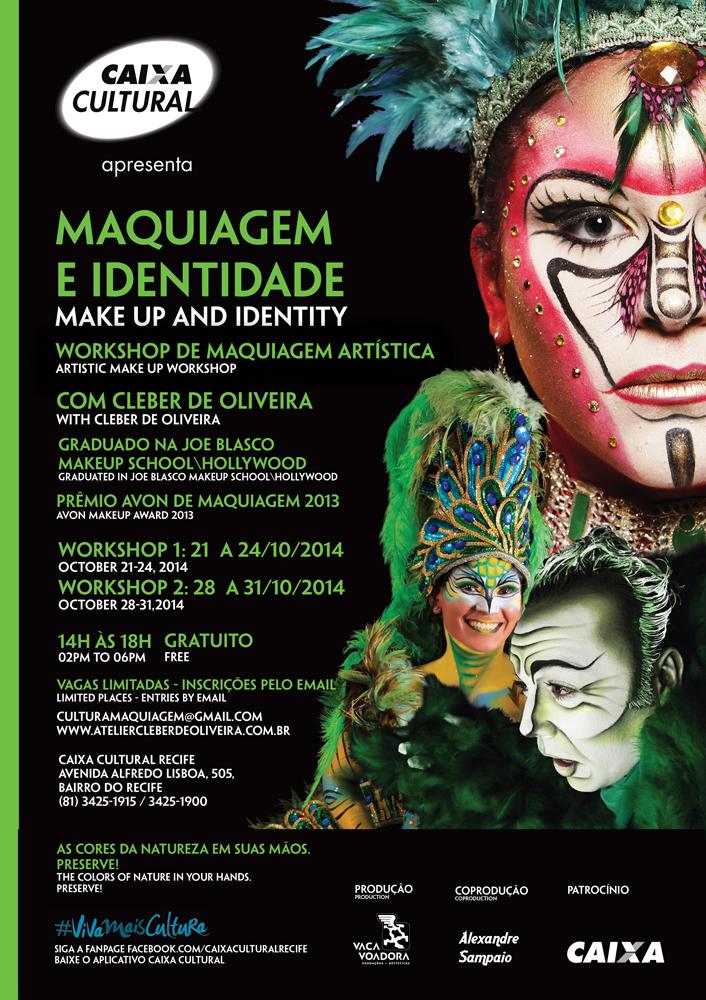 Cartaz Workshop de Maquiagem