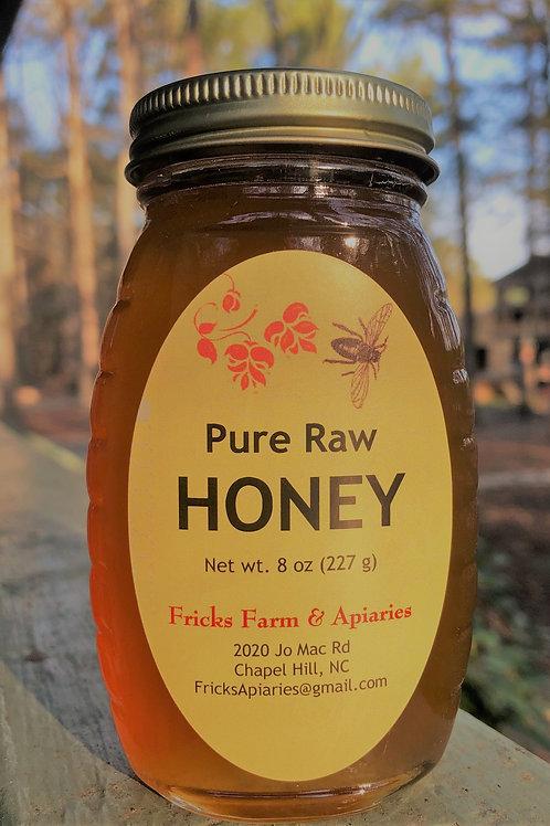 Raw Honey - 8 oz