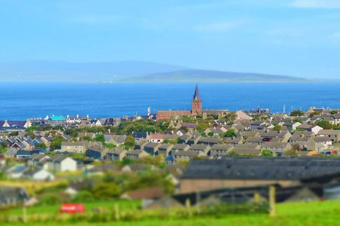 View over Kirkwall