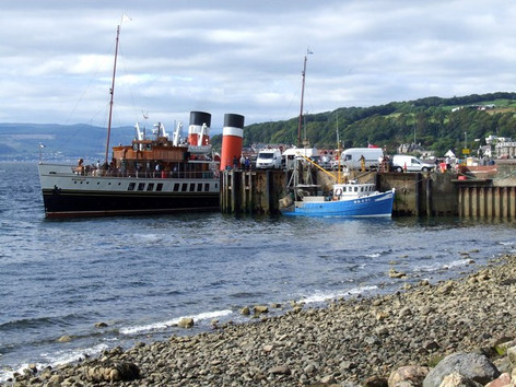 SS Waverley  at Largs