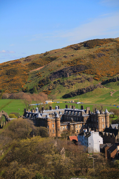 Arthur's Seat and Palace of Holyrood