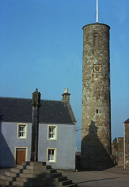 Pictish Round Tower, Abernethy