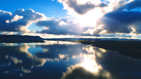 Loch Leven Reflections Facebook@skysthelimitdai