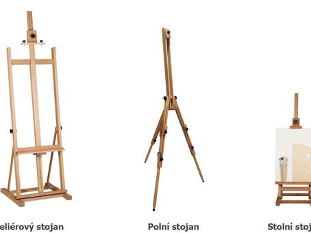 4) Pomůcky: Kreslit u stolu nebo u stojanu?