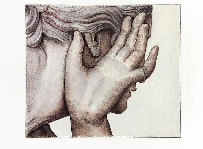 hluchá dívka z Pompejí