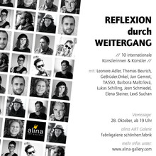 Invitation: Reflexion durch Weitergang  _ 28th October 2017 in Chemnitz