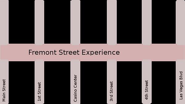 Fremont Street Map