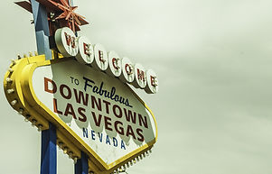 Sign borad To fabulous Downtown Las Vegas