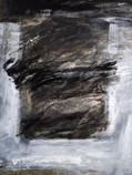 oil mixed media on canvas, siz: 70x50 cm, 19untitiled 99 reza doust