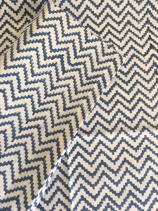 serviette de table ZigZag Navy