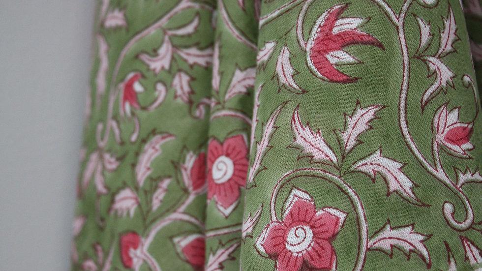 foulard Edelweiss vert