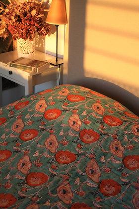 dessus de lit réversible matelassé Pavot