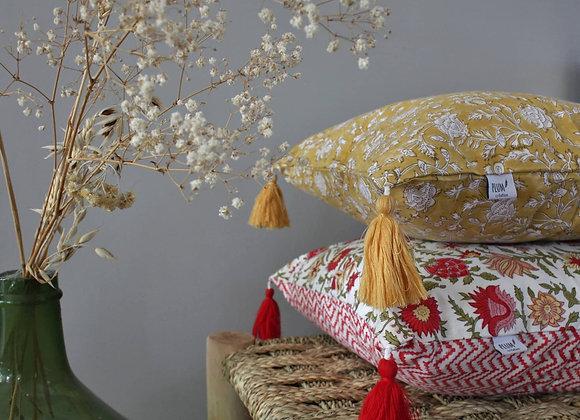 housse de coussin Blossom - Coquelicot