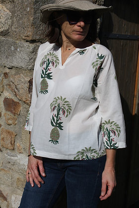 blouse Pineaple