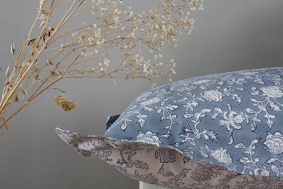 taie d'oreiller Capucine bleu poudre