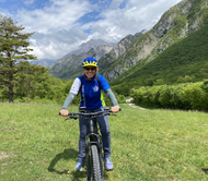 Giro bici sopra Gemona