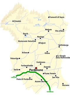 The province of Pordenone