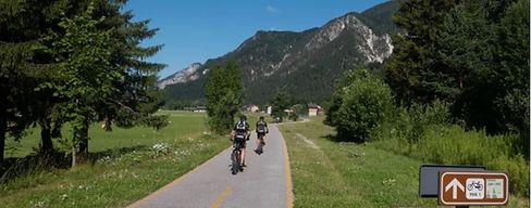 skiën, fietsen, wandelen in Friuli op Alpe Adria Trail
